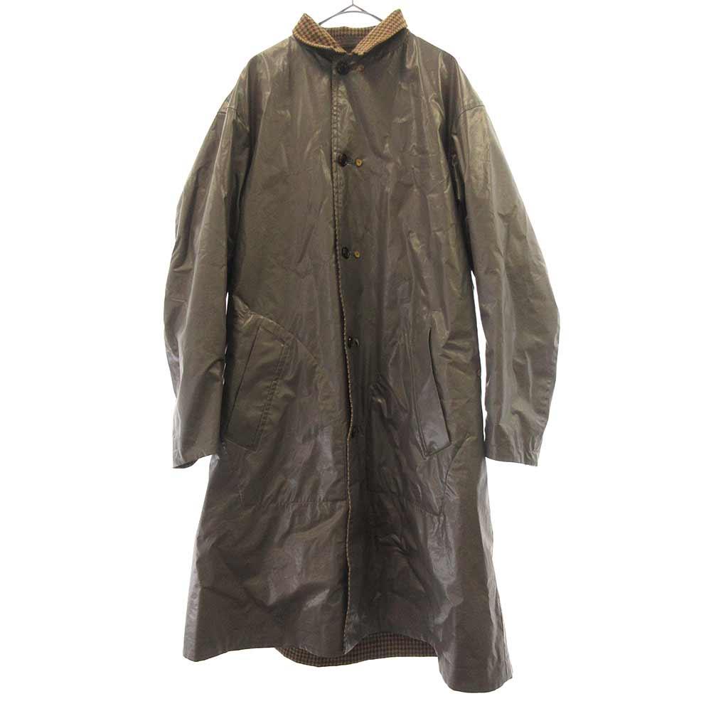 コーティング切替ロングコート ジャケット