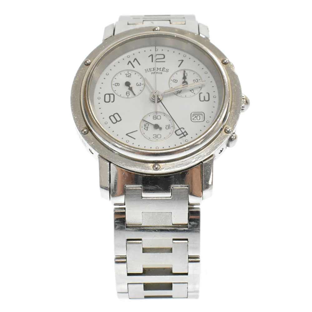 クリッパー CL1.910文字盤 デイト クロノグラフ クォーツ ステンレス 腕時計 メンズウォッチ