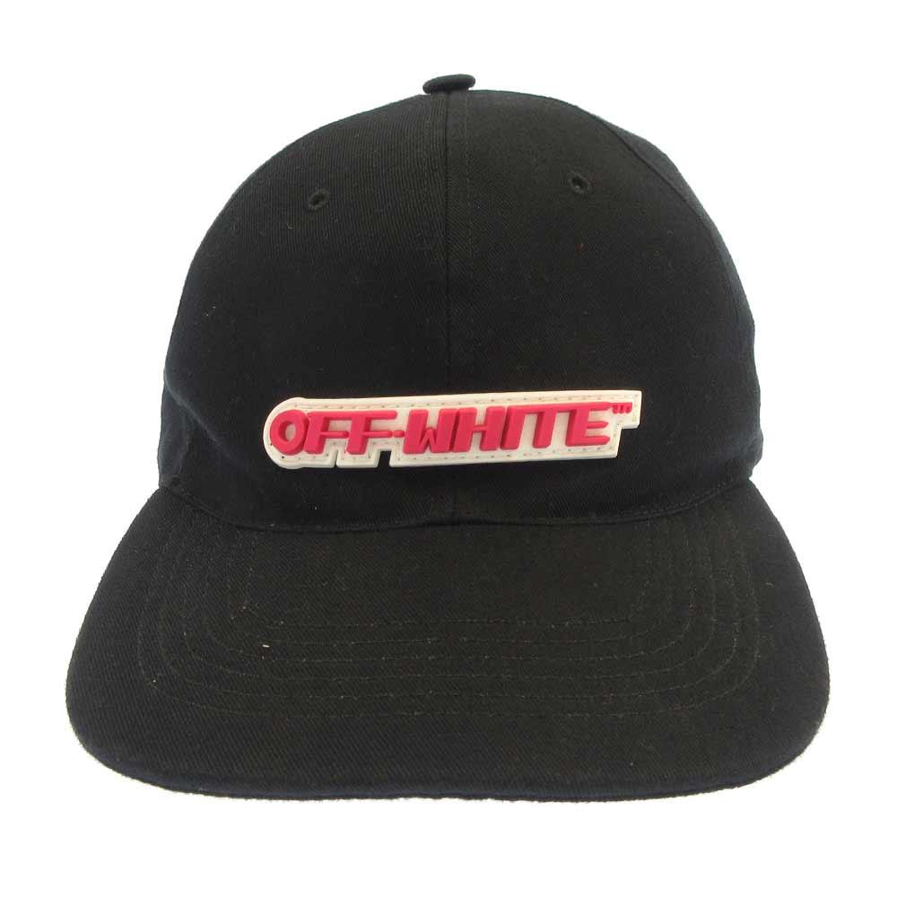 ラバーロゴデザインキャップ 帽子