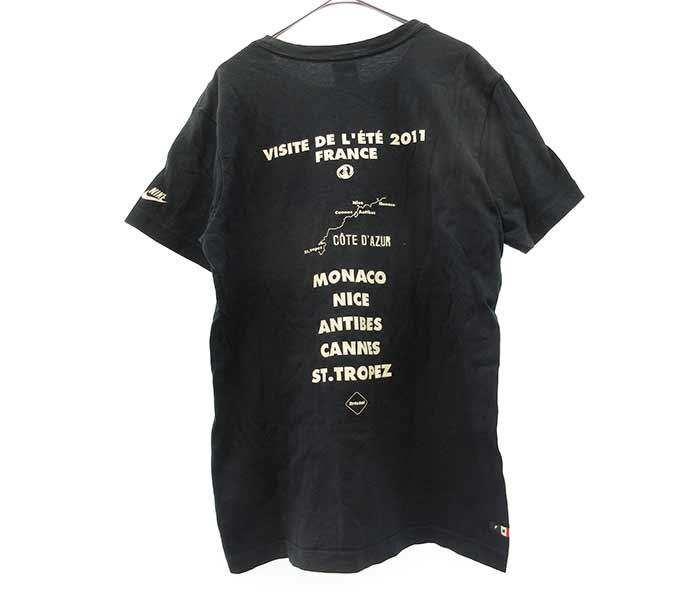 ×NIKE Tour de France Tee×ナイキ ツ-ルドフランス ロゴプリント半袖Tシャツ