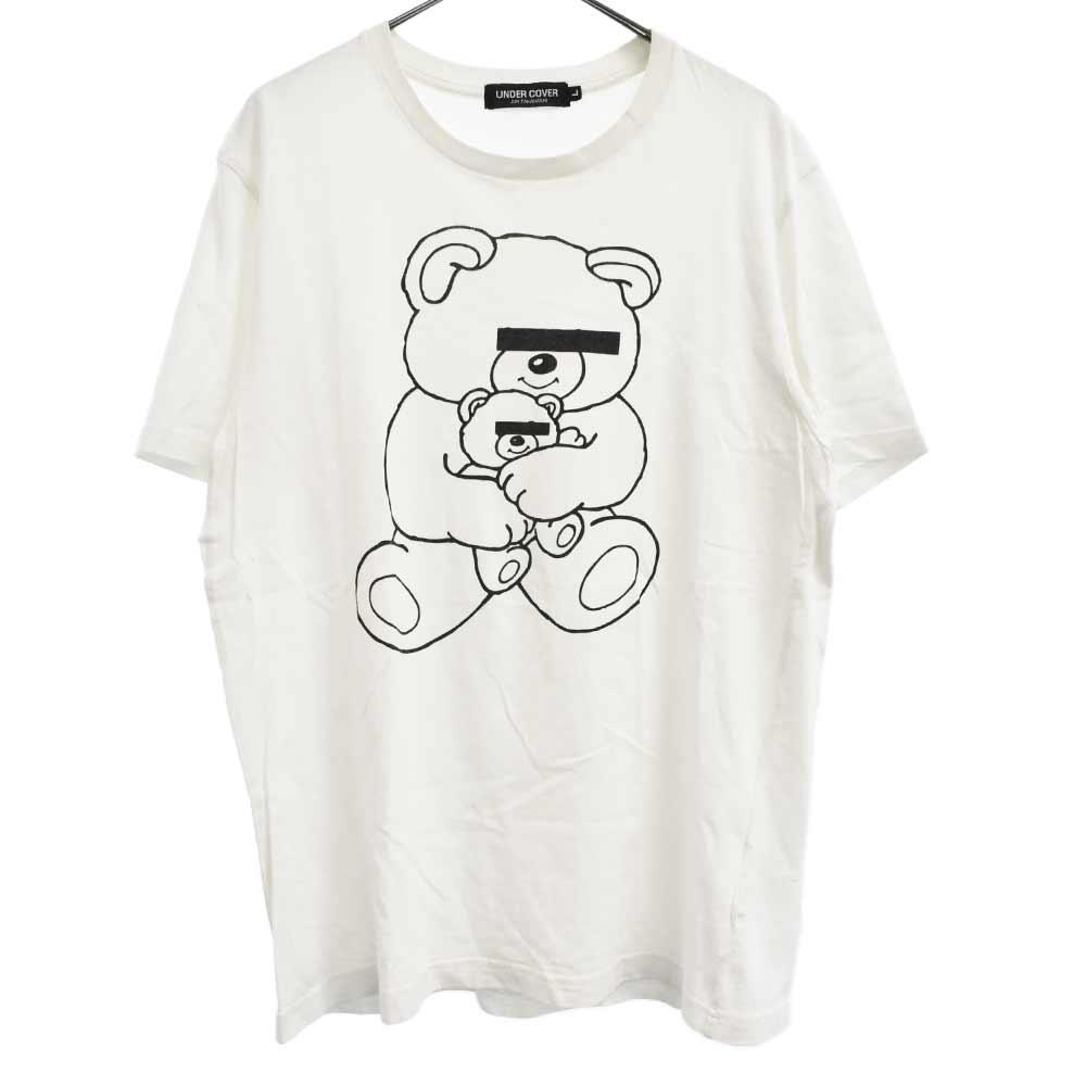 ベアプリント半袖Tシャツ