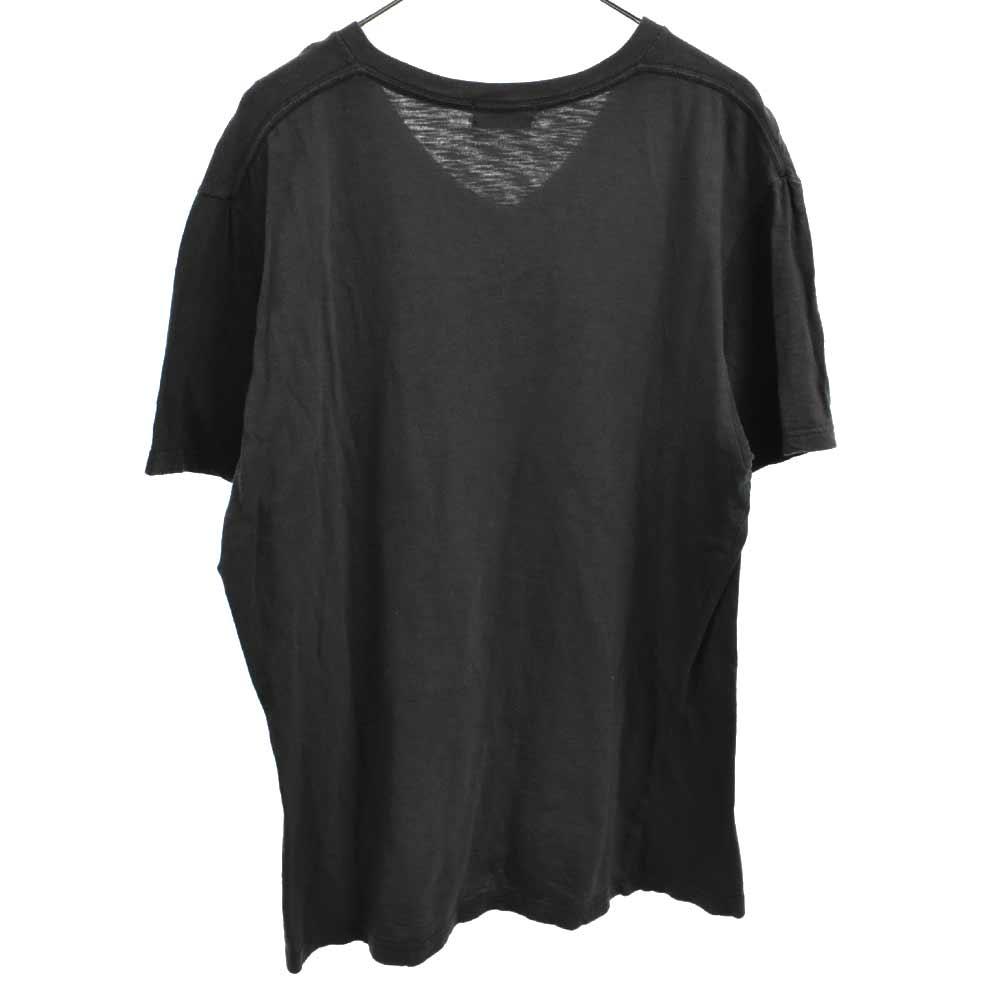 PSYCHO TEE フロントサイコプリントクルーネック半袖Tシャツ