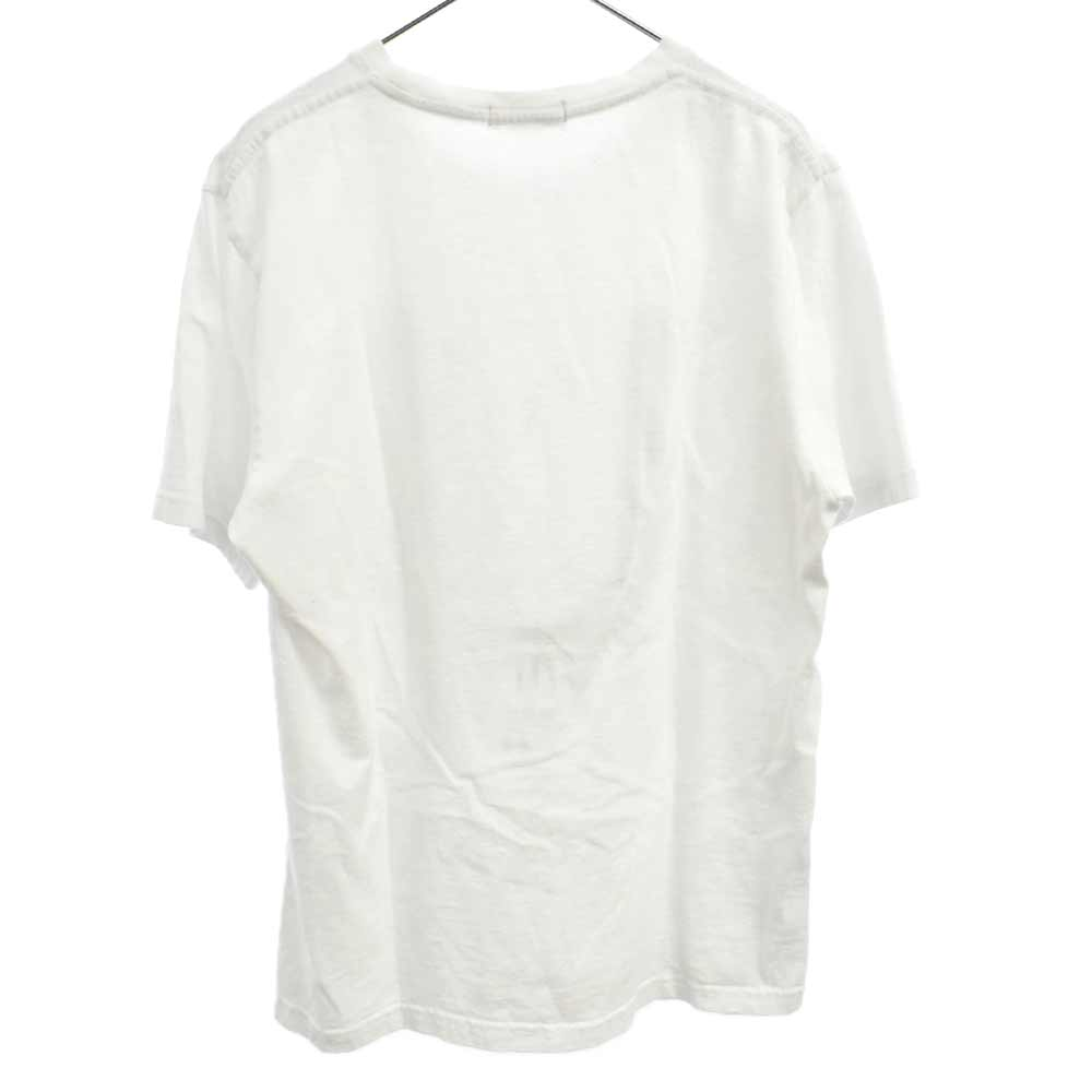 SCAB期 U GIZプリントクルーネック半袖Tシャツ