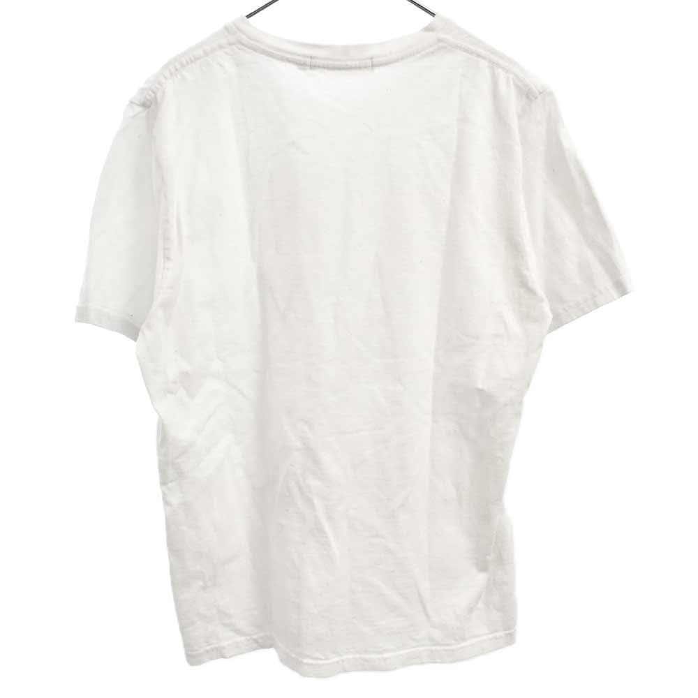instant calm プリントクルーネック半袖Tシャツ