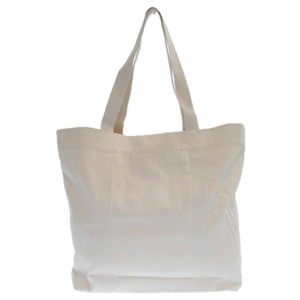 青山店限定ノベルティ キャンパス生地ロゴプリントトートバッグ