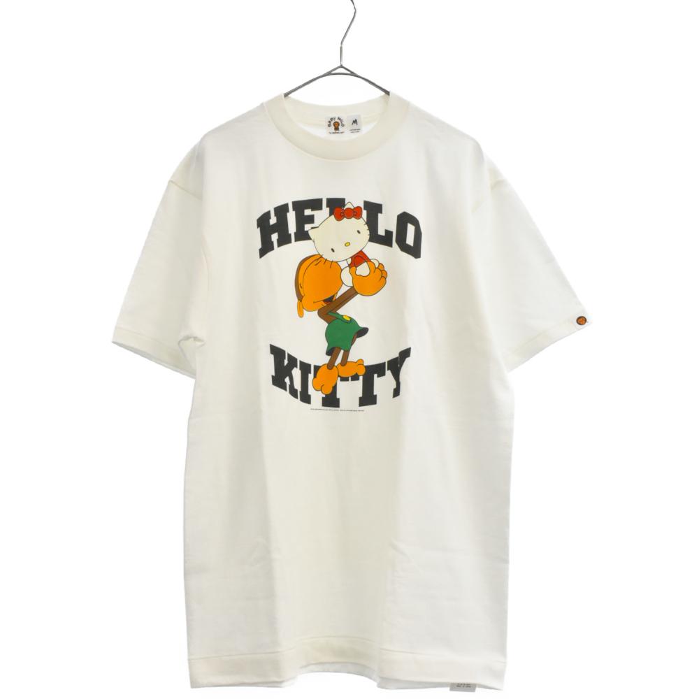 ×サンリオ 05SSキティー&ベビーリサ半袖Tシャツ