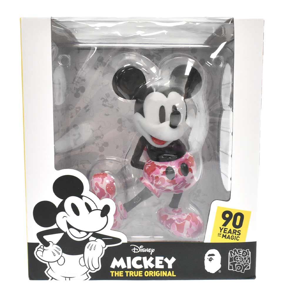 ×MEDICOMTOY メディコムトイ  VCD BAPE MICKEY MOUSE ミッキーマウス フィギア