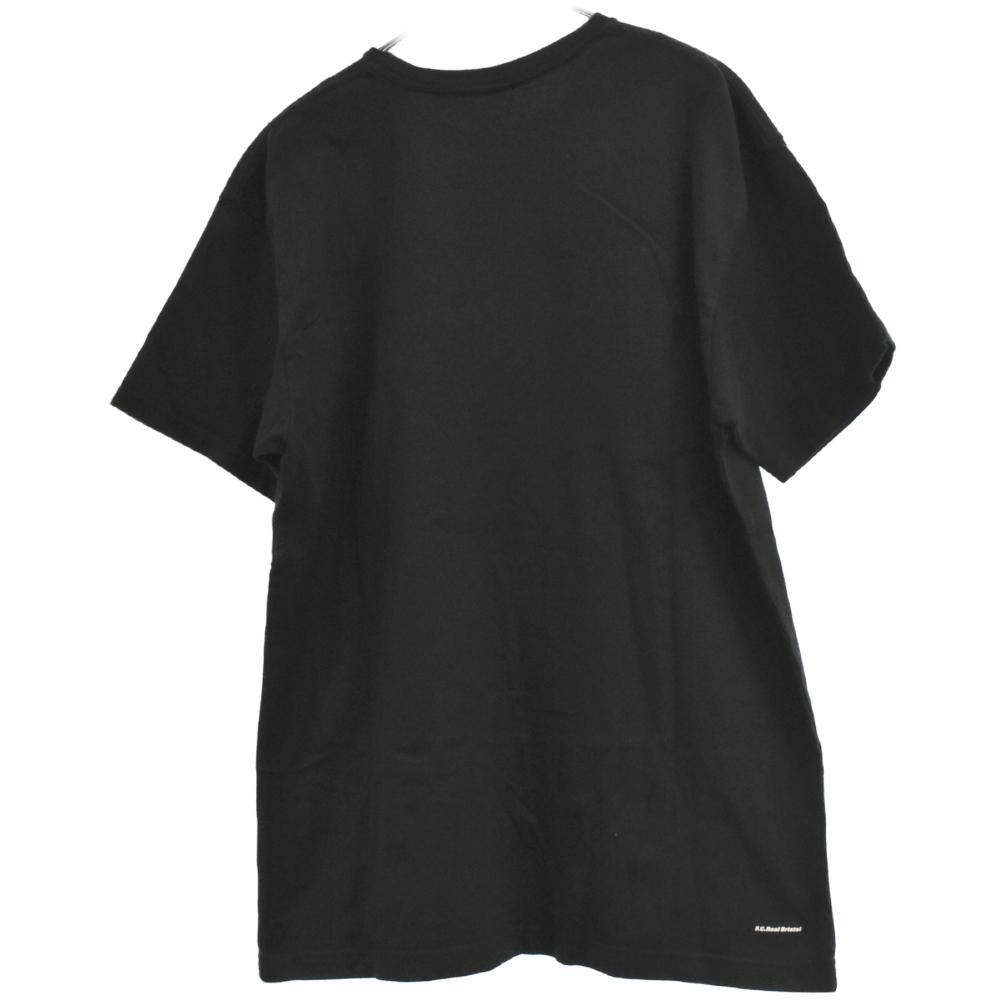 S/S AUTHENTIC TEE ロゴプリント半袖Tシャツ