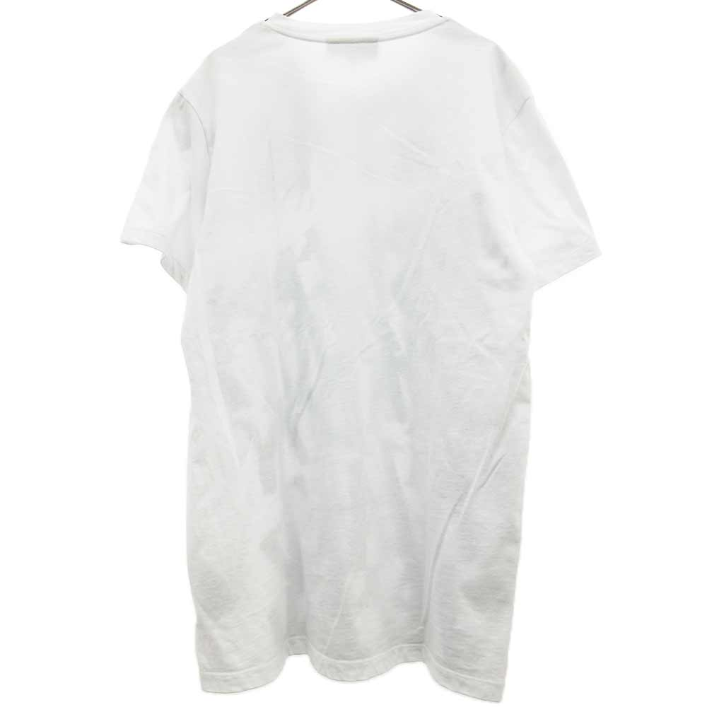 グラフィカル総柄プリント半袖Tシャツ