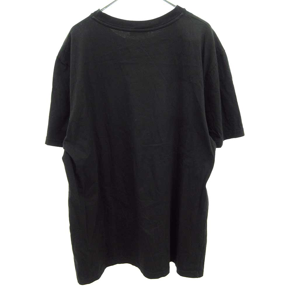 × SORAYAMA 空山基 メタリックロゴプリント半袖Tシャツ