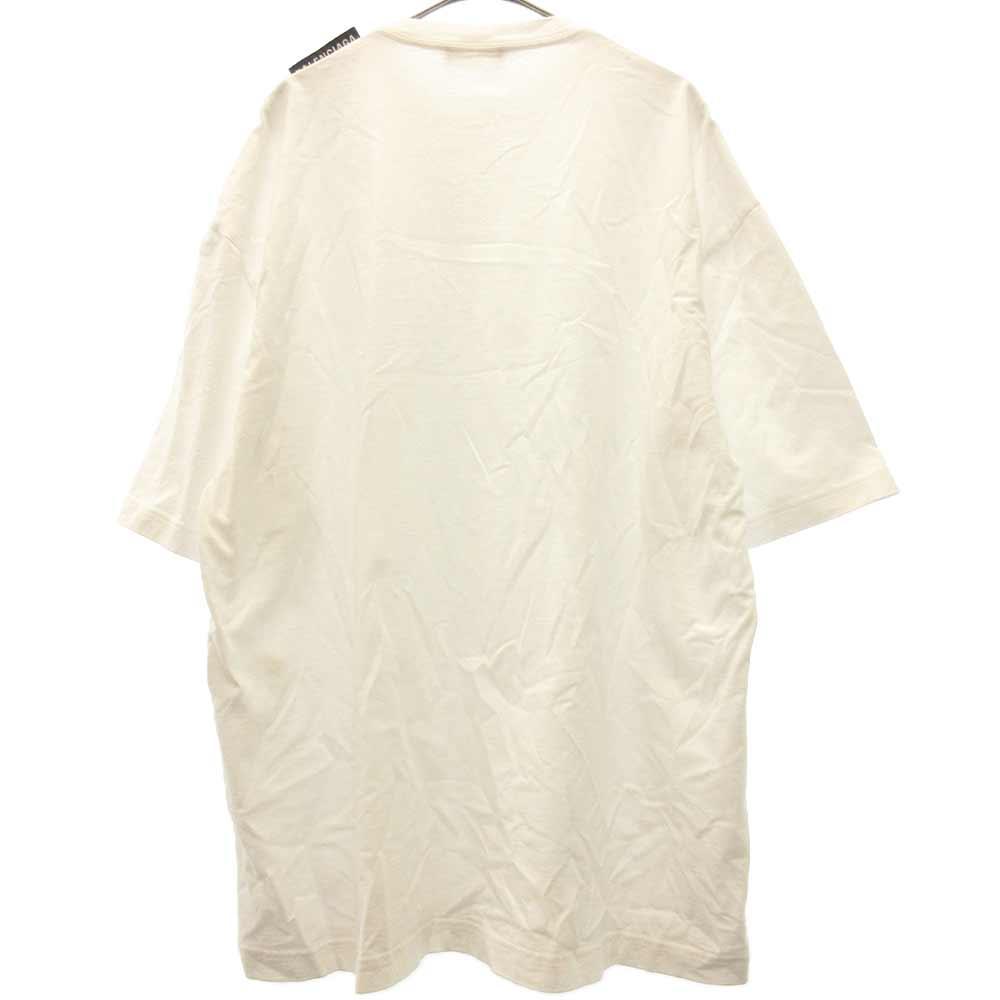 サイドショルダータグ付き半袖Tシャツ