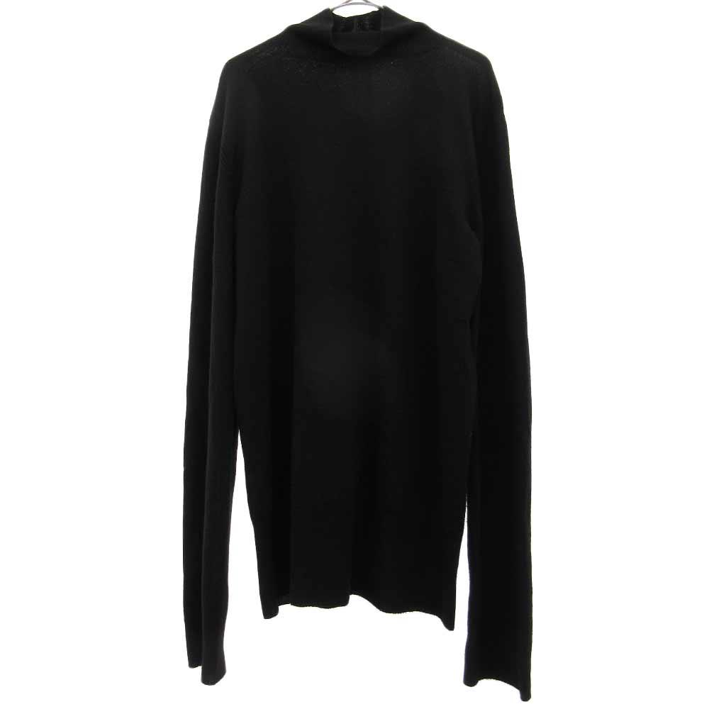 PLINTH メリノウール タートルネックセーター