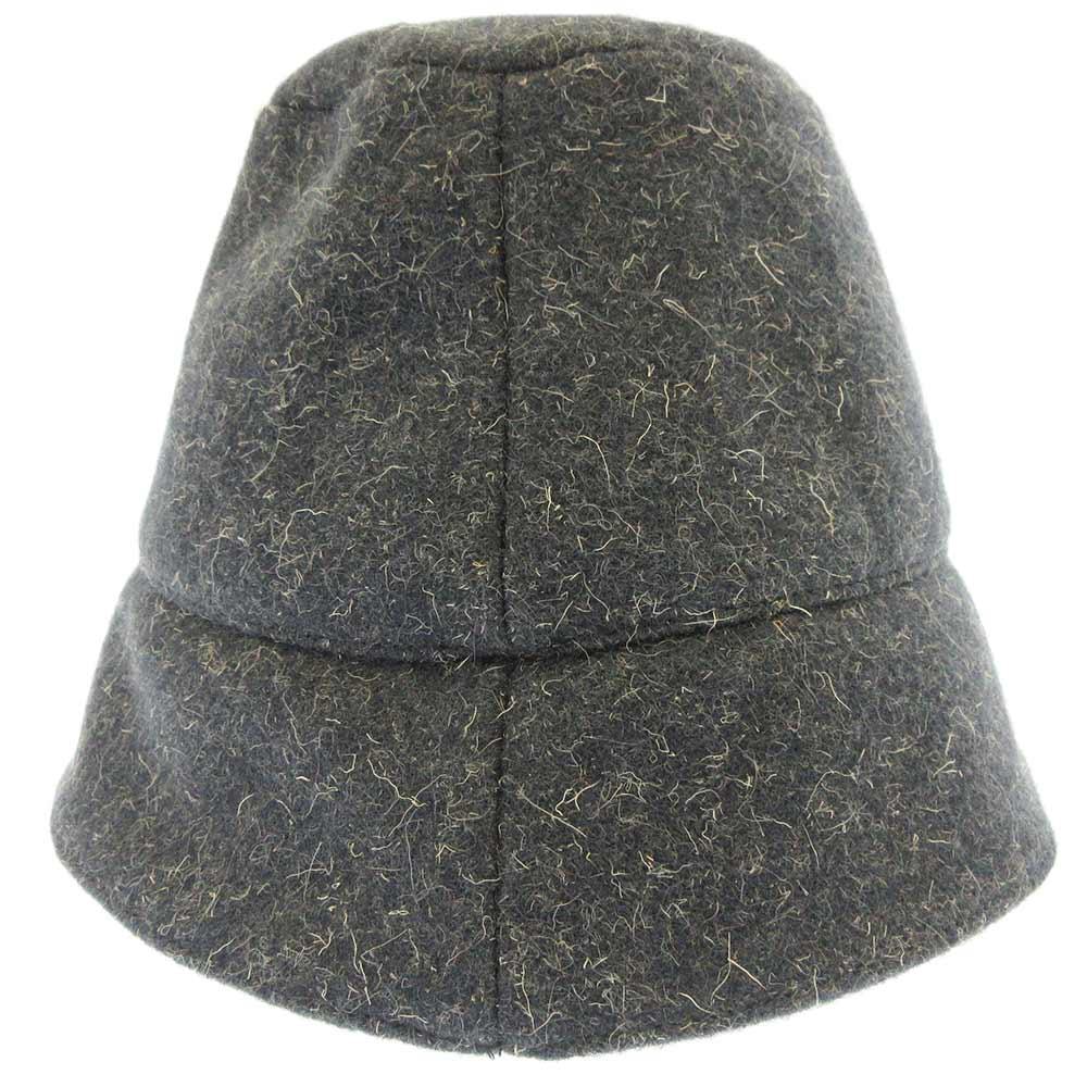 ウールバケットハット 帽子