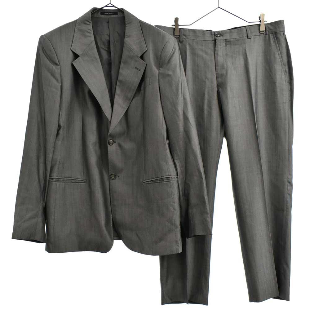 JOSH LINE シャドーストライプセットアップスーツ テーラードジャケット スラックスパンツ