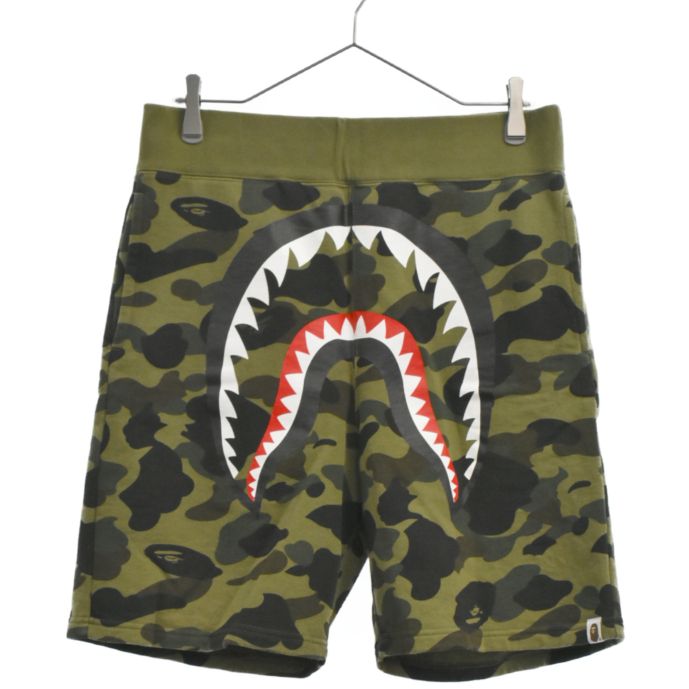 1st  Camo Shark Sweat Shorts カモ柄シャークスウェットショーツパンツ ハーフパンツ