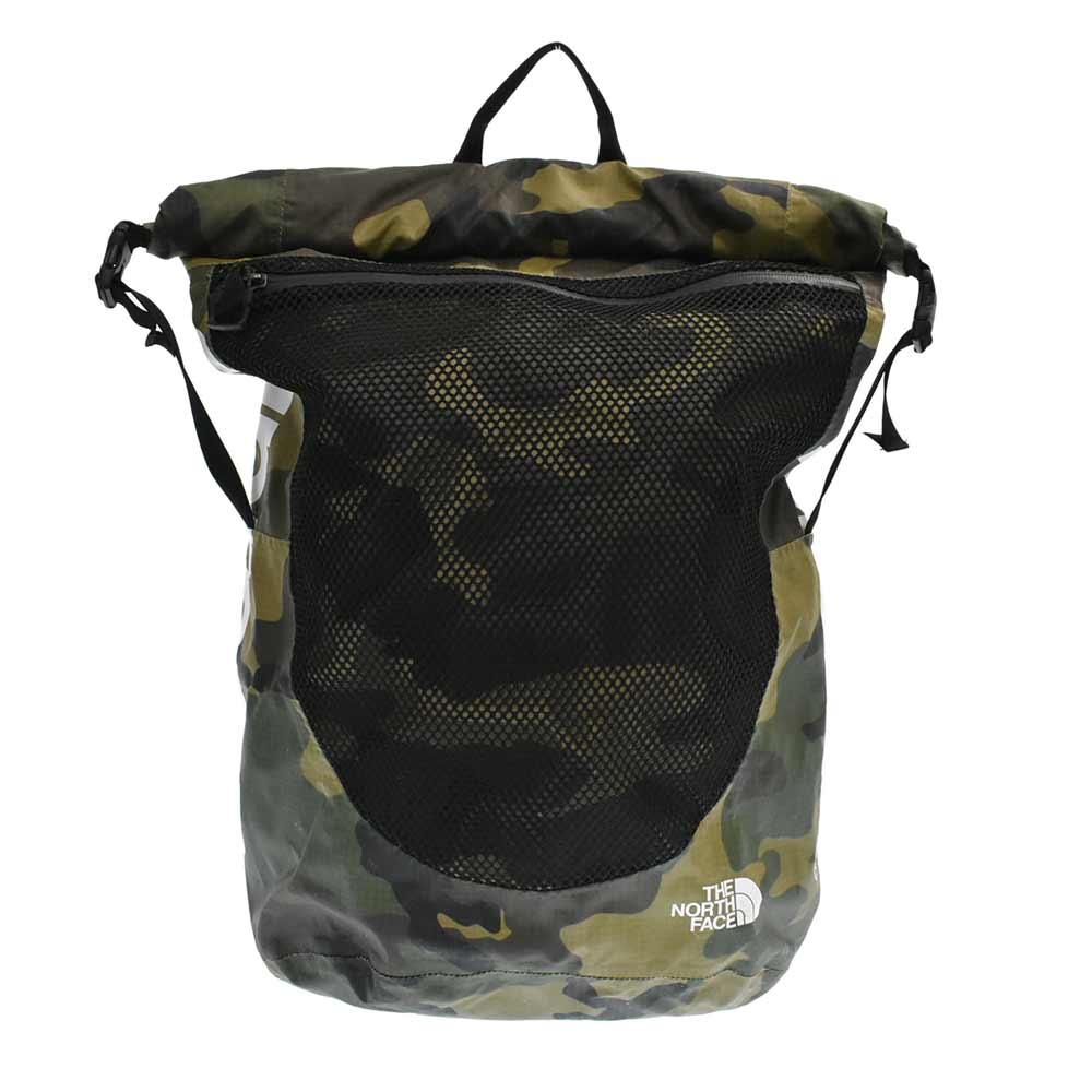 ×THE NORTH FACE Waterproof Backpack Woodland Camo カモフラージュ柄バックパック リュックサック ノースフェイス