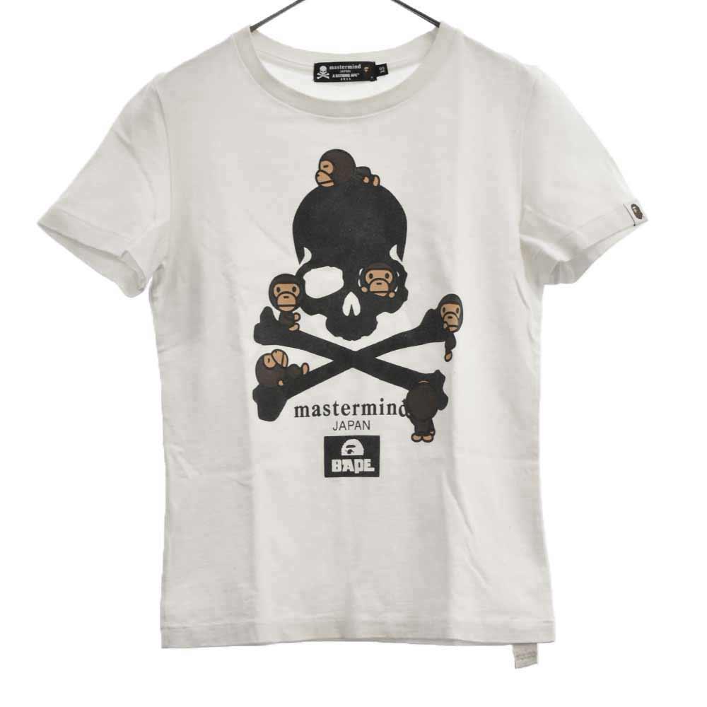 ×mastermind JAPAN マイロスカルプリント半袖Tシャツ