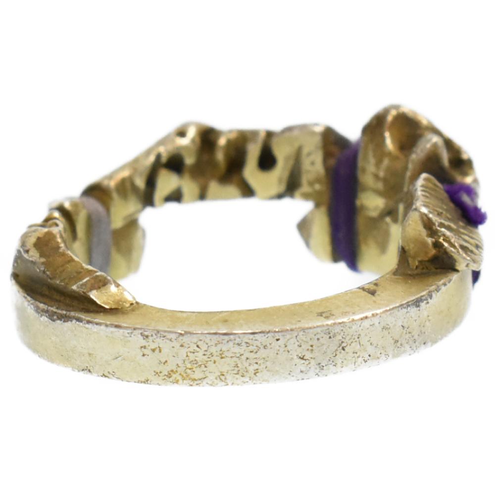 ×JAM HOME MADE エッジロープデザインリング シルバー 指輪