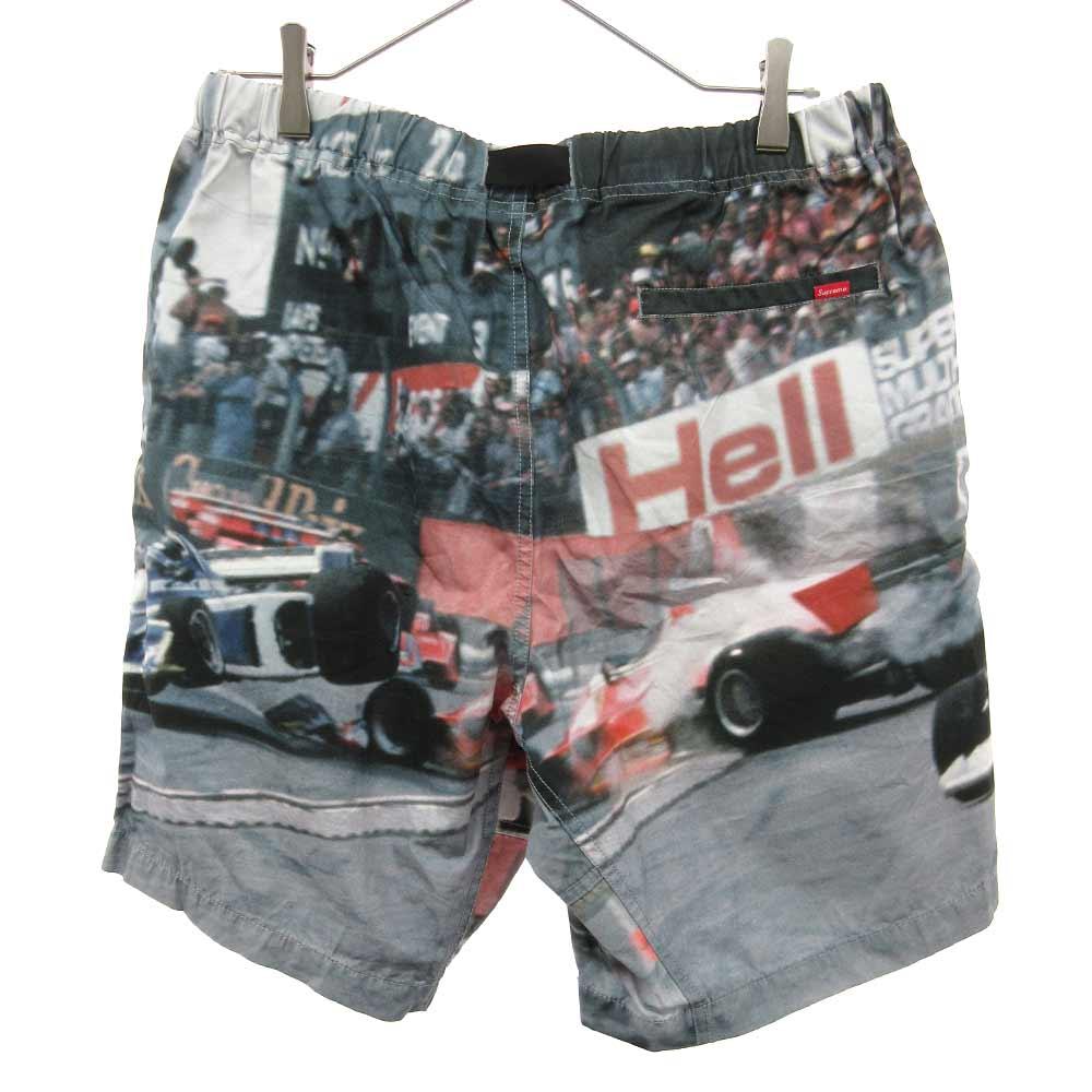 Grand Prix Belted Shorts グランプリ総柄ショートパンツ