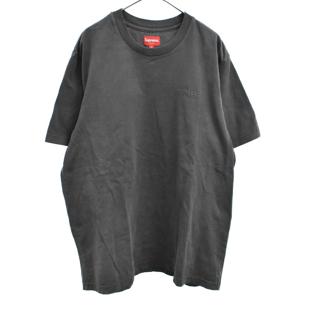 Overdyed Tee オーバーダイドクルーネック半袖Tシャツ