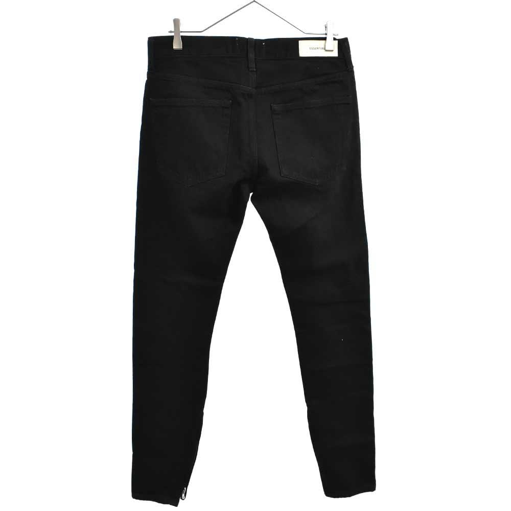Skinny Taper Jeans ヒゲ加工 スキニーデニムパンツ