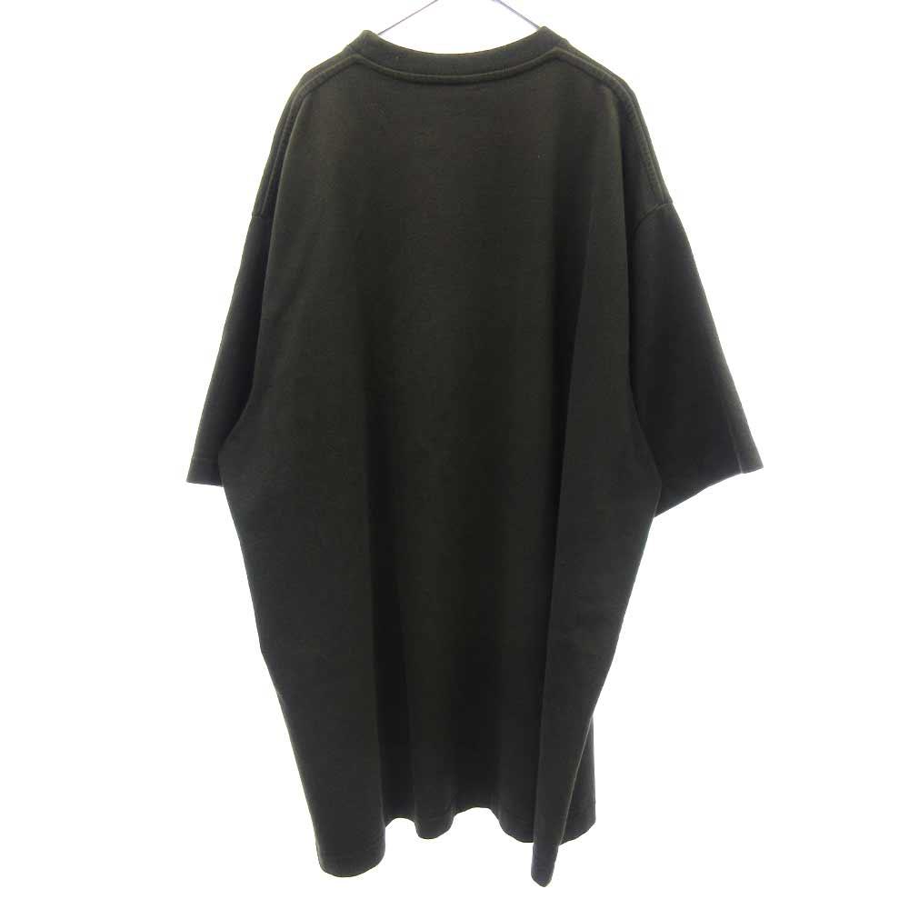 OVERSIZED HEAVY METAL PRINT TEE オーバーサイズヘビーメタルスカルプリント半袖Tシャツ