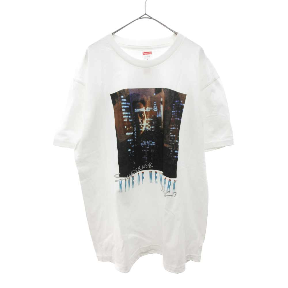 Christopher Walken King Of New York Teeキングオブニューヨークプリント半袖Tシャツ