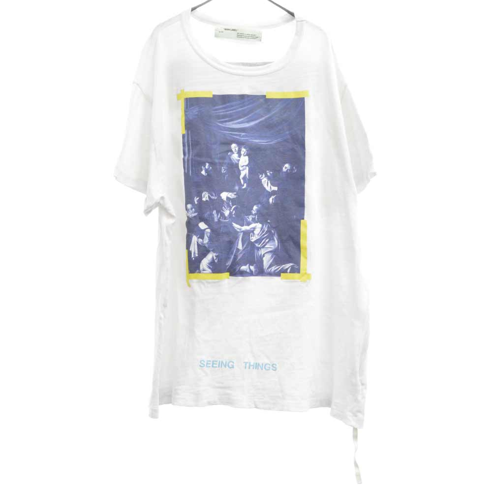 DIAG CARAVAGGIO TEE カラヴァッジオバックバイアス 半袖Tシャツ