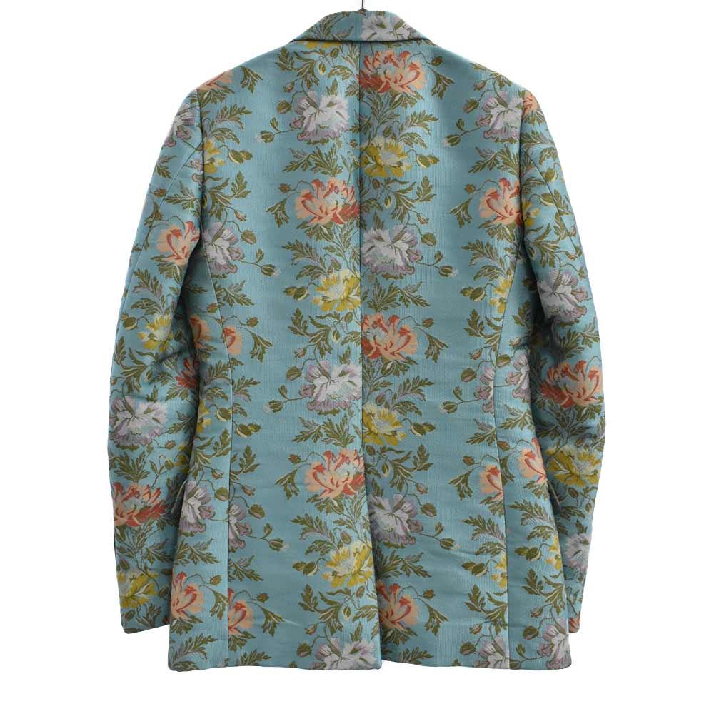 Heritage floral tapestry jacquard jacket LOVEDフローラル総刺繍2Bテーラードジャケット