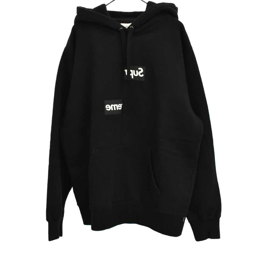 ×COMME des GARCONS SHIRT Split Box Logo Hooded Sweatshirt スプリットボックスロゴパーカー コムデギャルソンシャツ