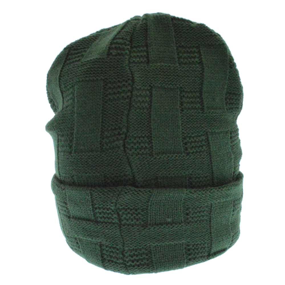 Basket Weave Beanie バスケットウェーブニットビーニー ニットキャップ/帽子