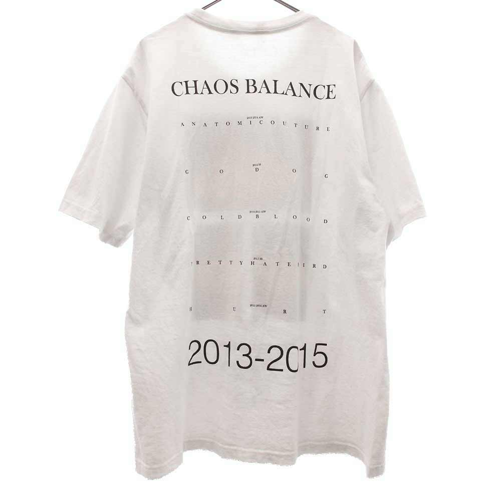 CHAOS BALANCE 2013-2015ツアーデザイン 半袖Tシャツ