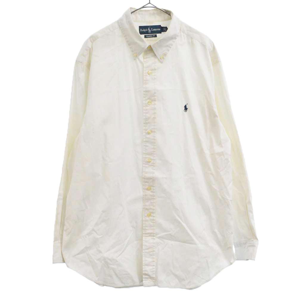 CLASSIC FIT ポニー刺繍ボタンダウン長袖シャツ