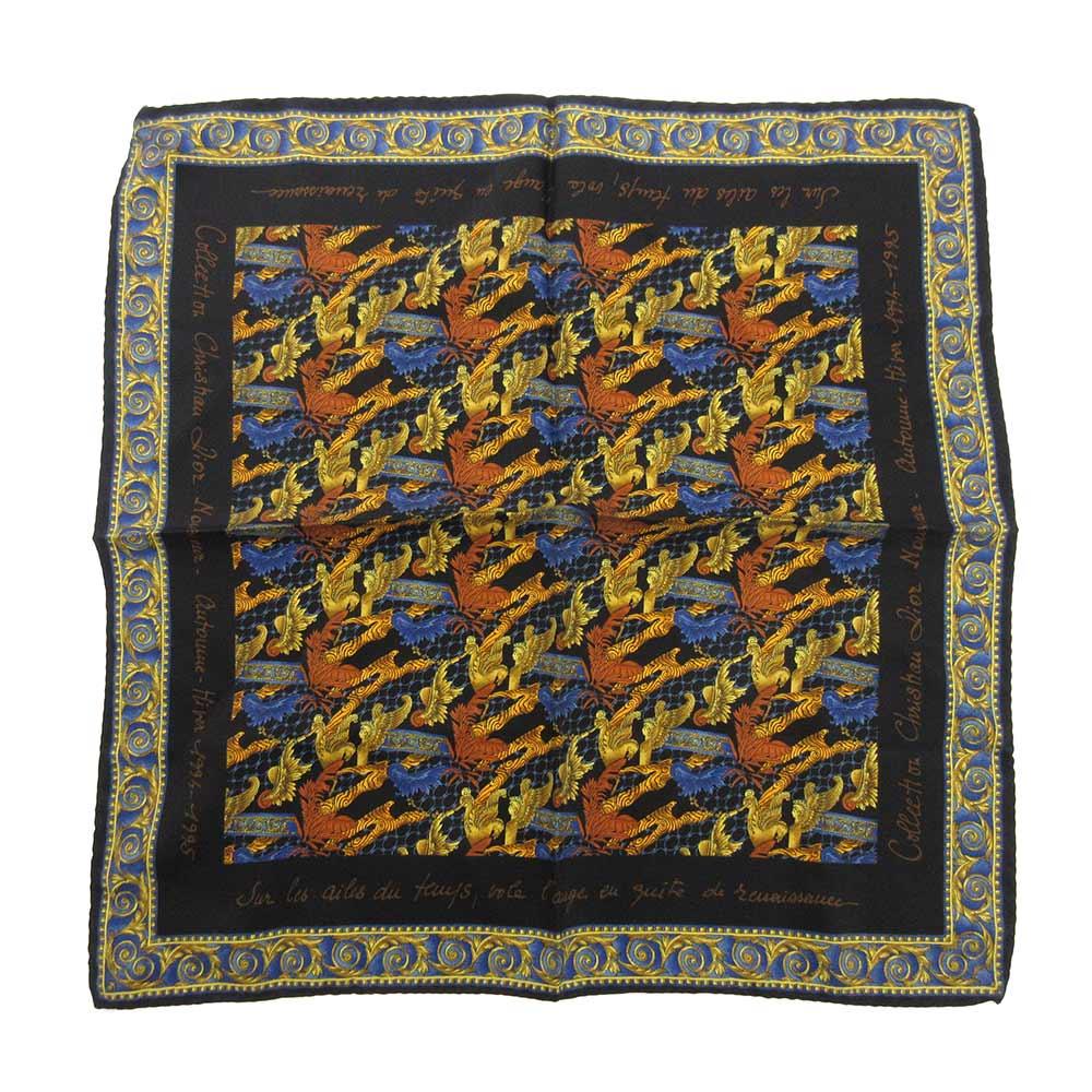 スカーフ カレ40 シルク プチカレ スカーフ