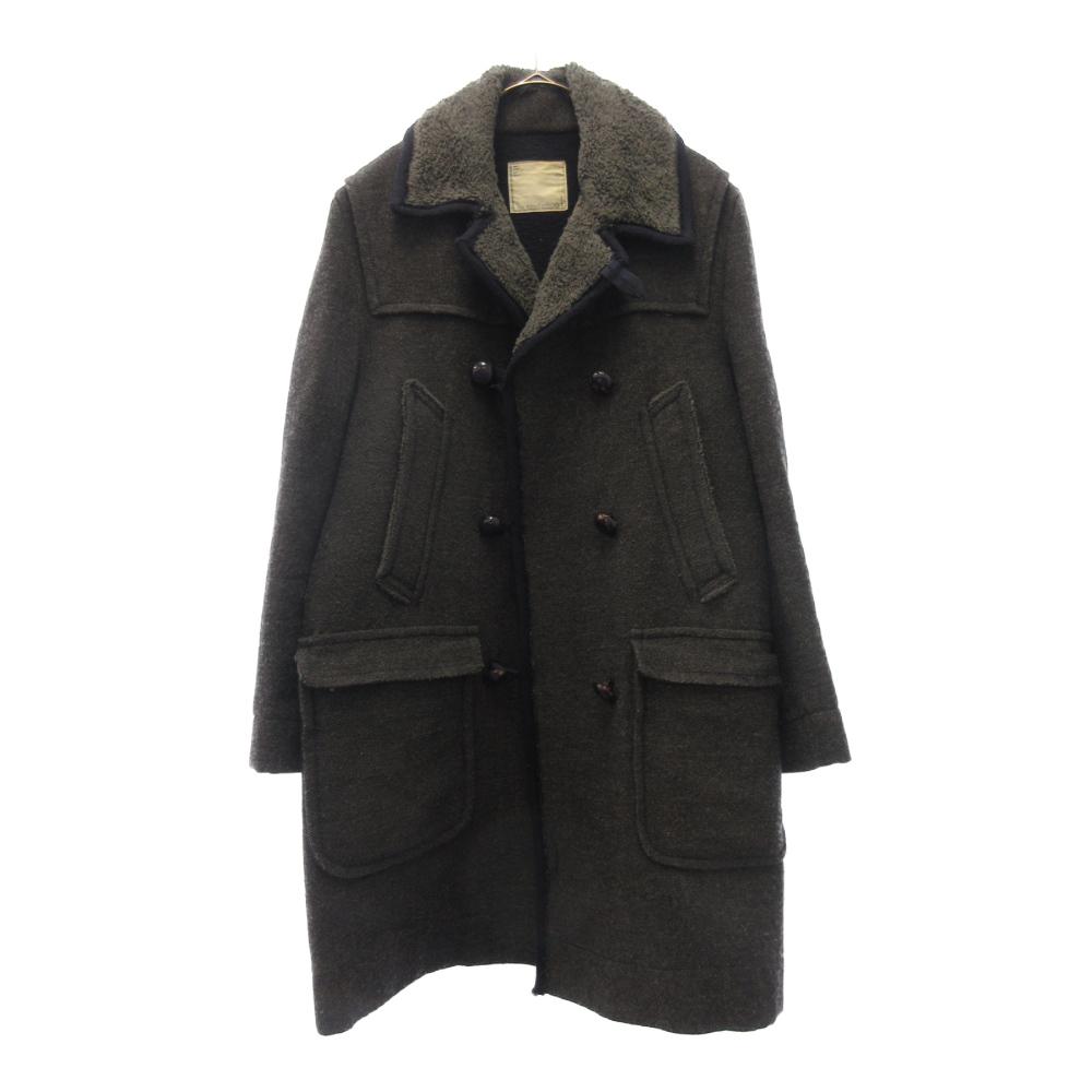 ボアカラーPコート ジャケット