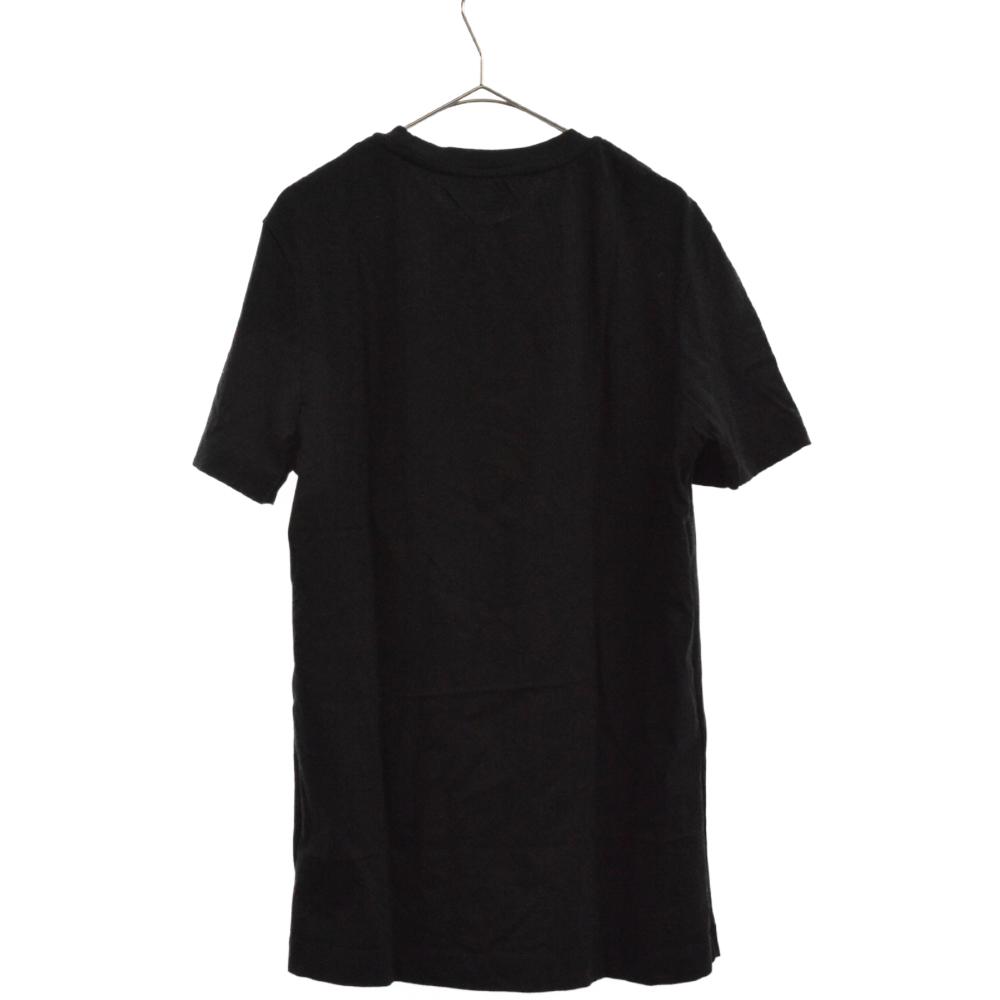 バックプリント半袖クルーネックTシャツ