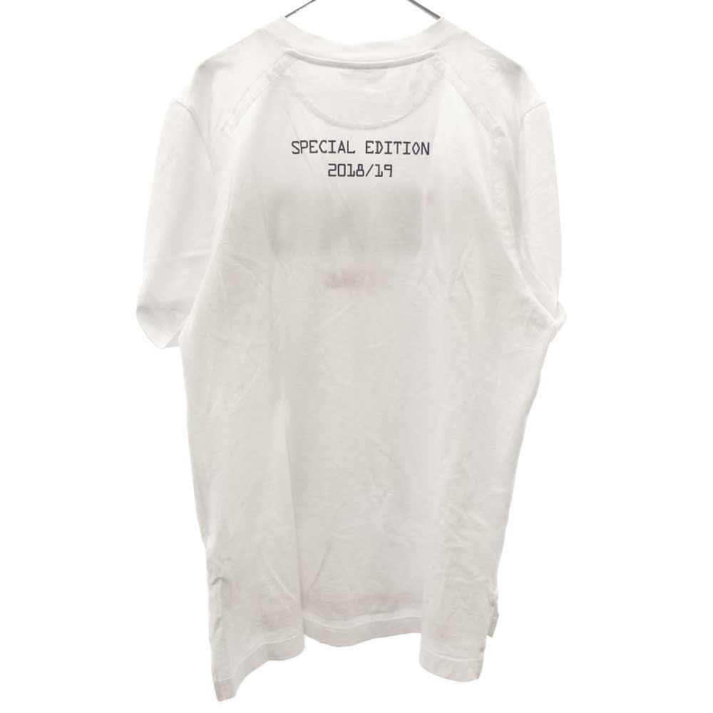 ×FILA フィラ ロゴワッペン半袖Tシャツ