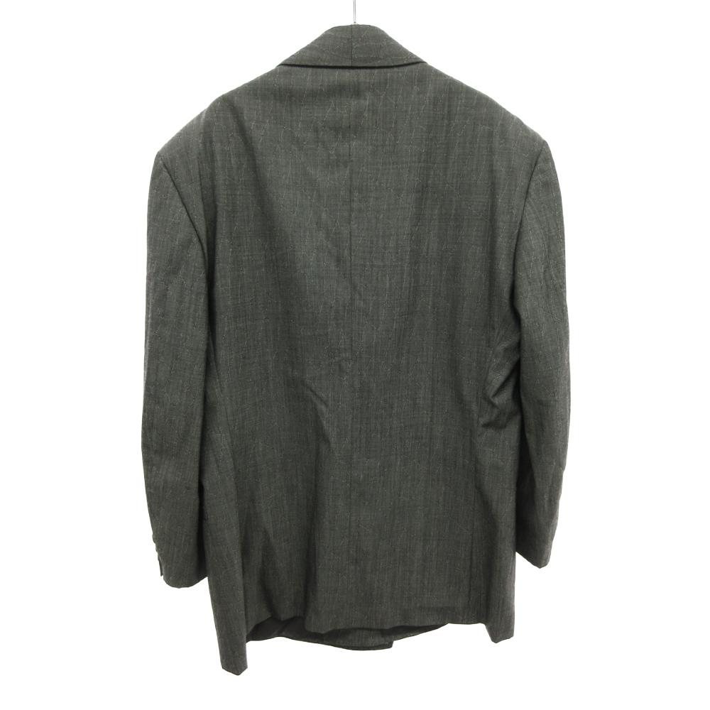 ウール素材ダブルスーツジャケット