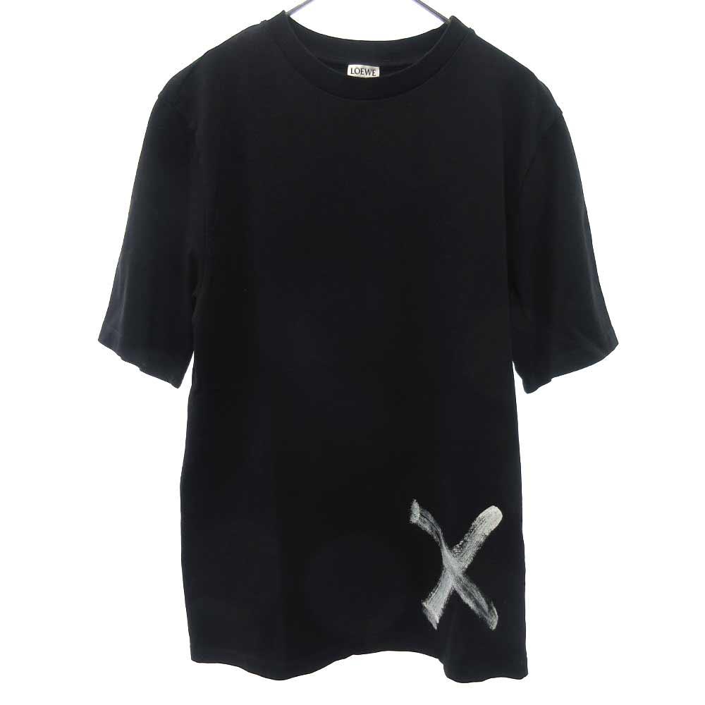 バードプリント半袖Tシャツ