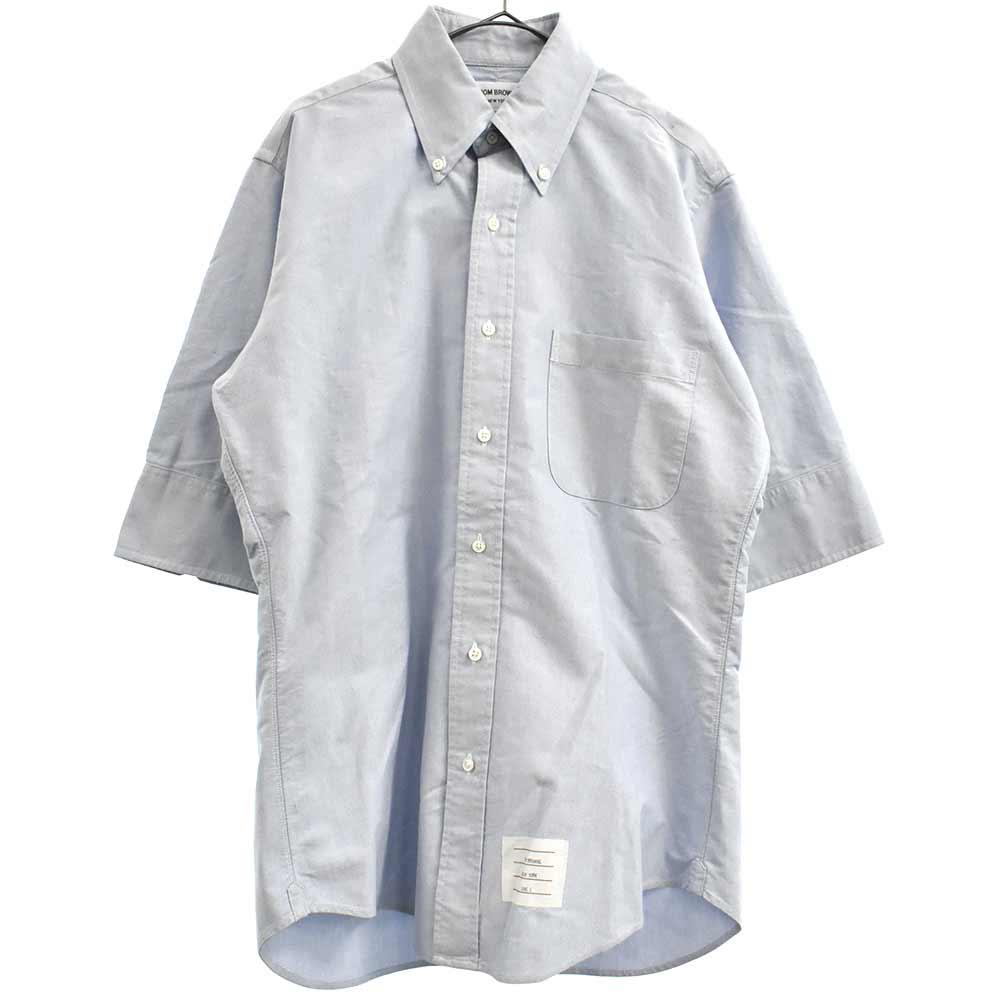 クラシックオックスフォード5分袖シャツ