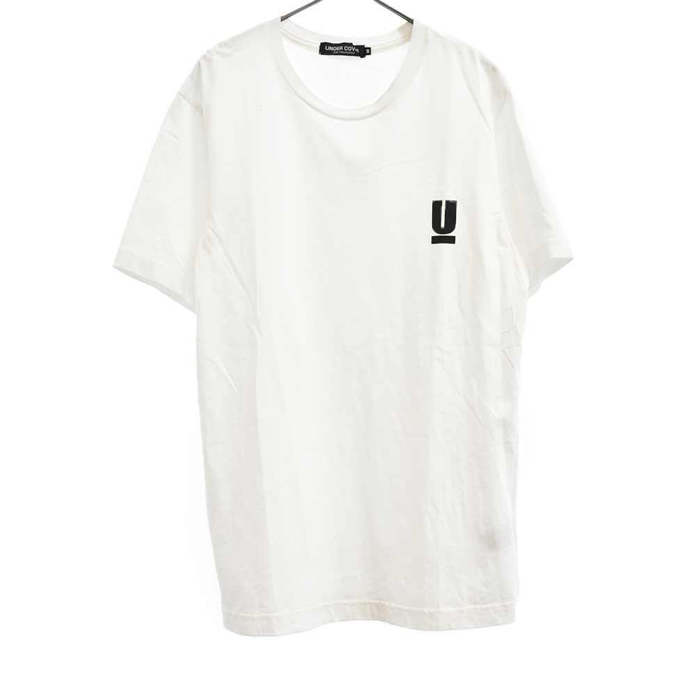 WE MAKE NOISE NOT CLOTHES Uロゴプリント半袖Tシャツ