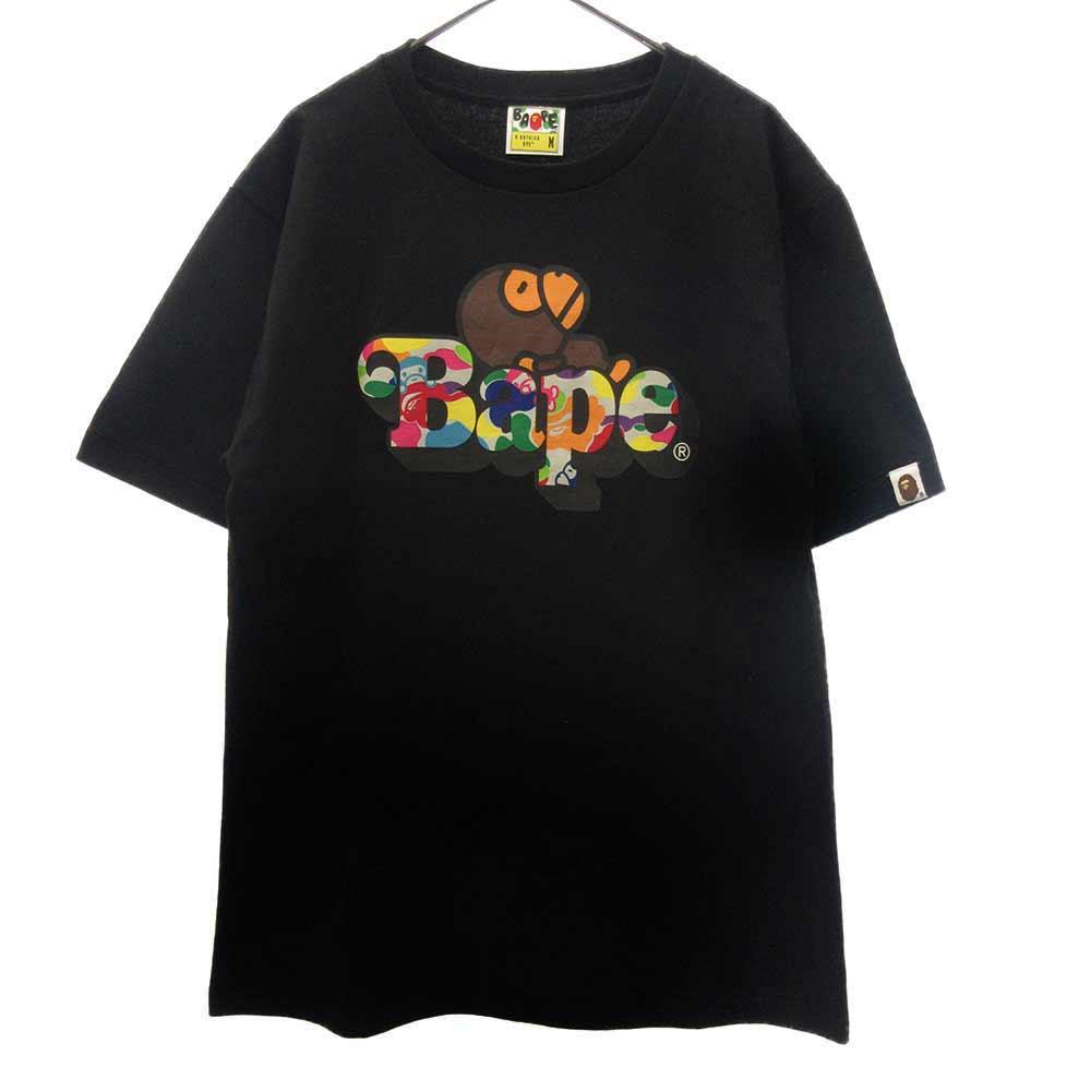 BAPE ABC MULTI MILO TEE フロントロゴ マイロプリント Tシャツ