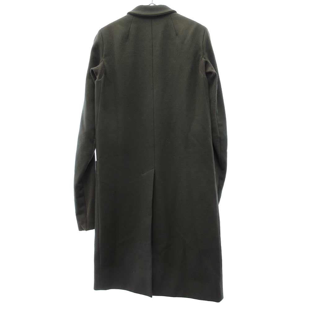袖リブ切替1Bロングジャケット ロングコート