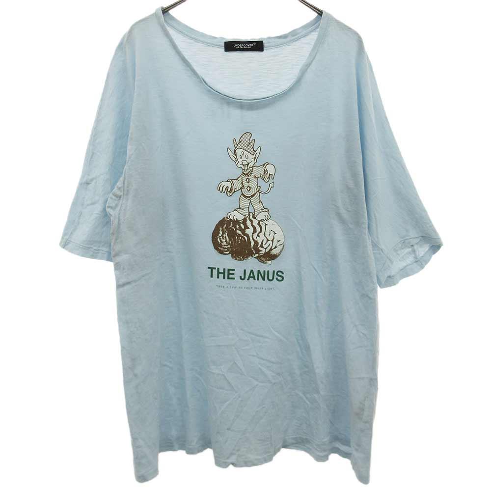 THE JANUS プリント半袖Tシャツ