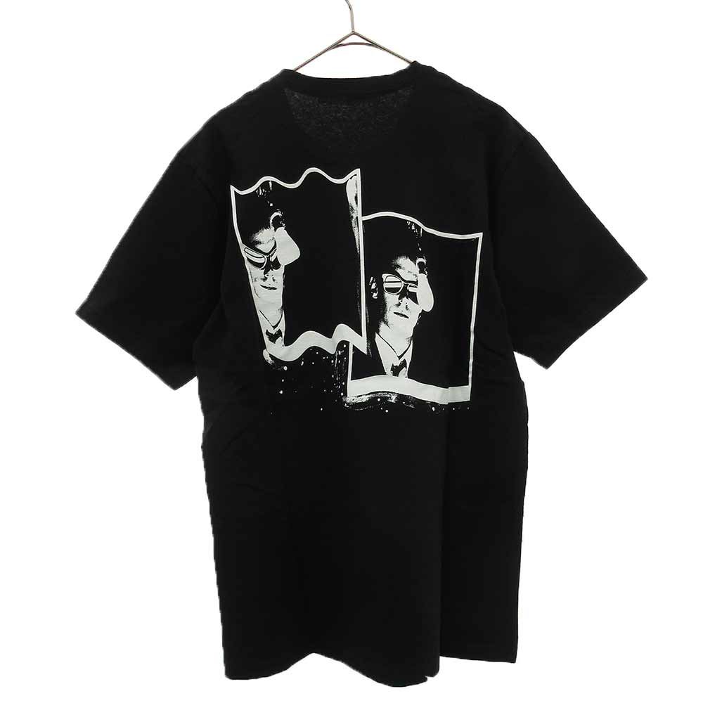 WARPED POLAROID PRINT プリント半袖Tシャツ
