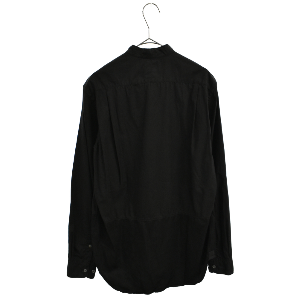 ハーフボタン長袖シャツ