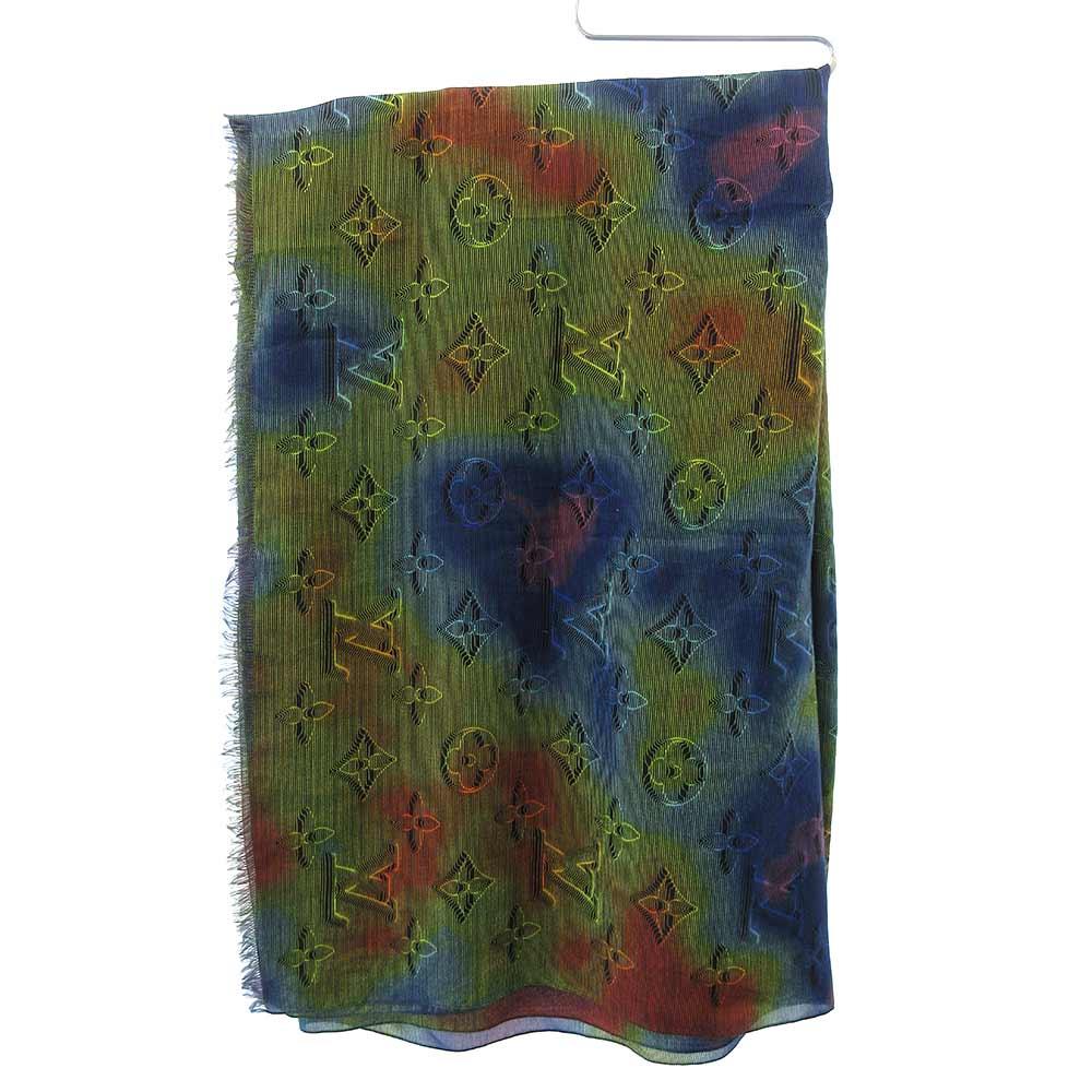 モノグラム レインボー ストール スカーフ