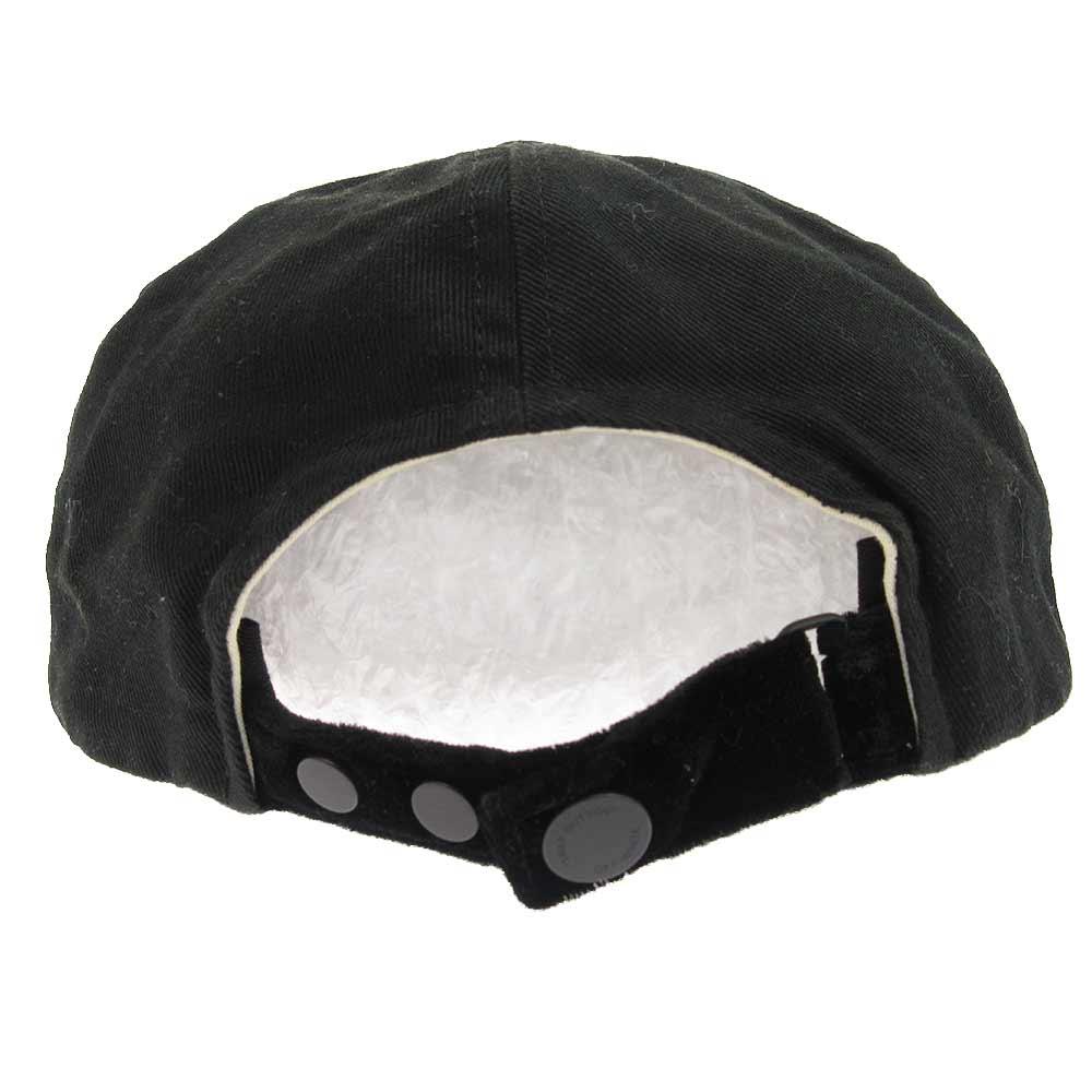BIG OFFフロントロゴプリントベースボールキャップ 帽子
