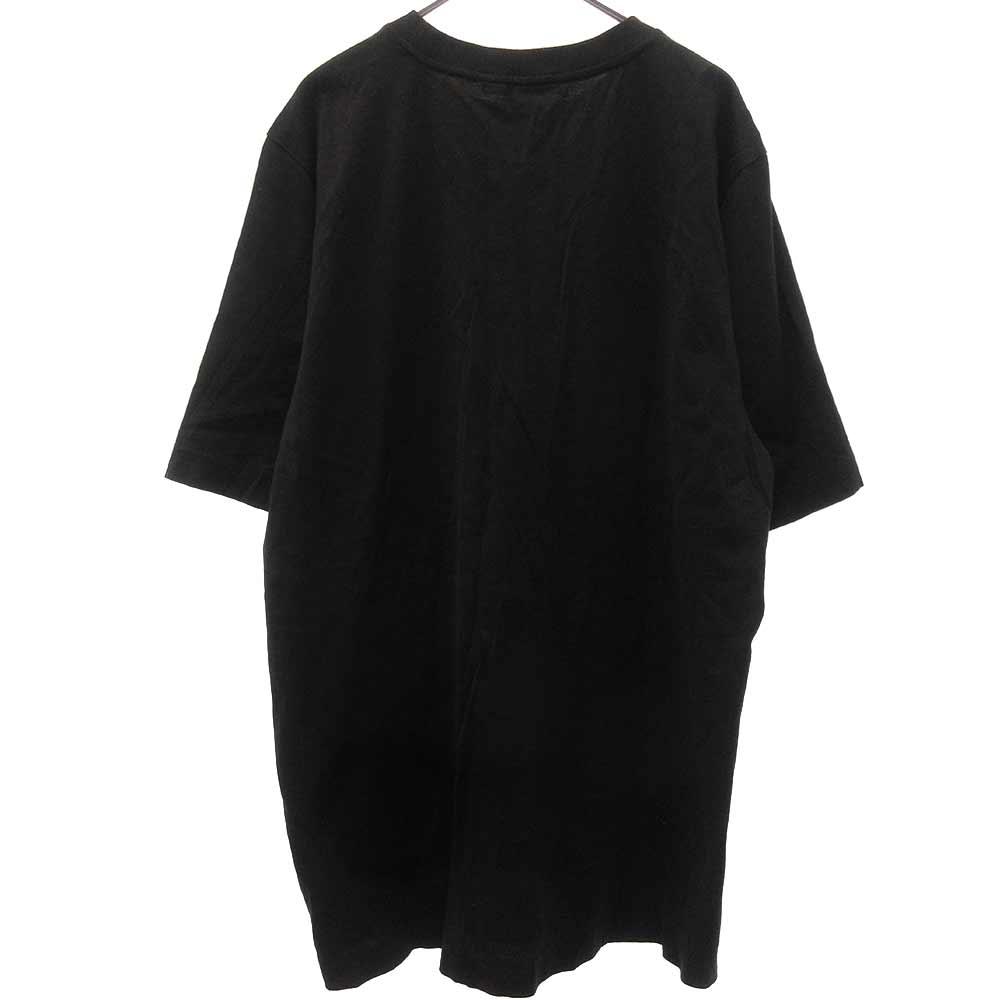 胸ロゴ ワッペン クルーネックTシャツ 半袖