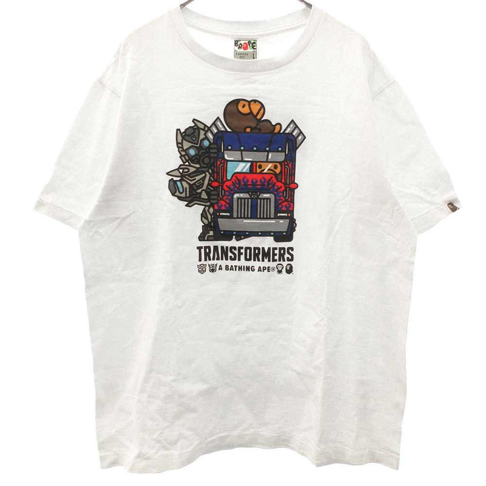 x トランスフォーマー TRANSFORMERS COLLEGE TEE カレッジ Tシャツ